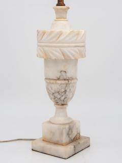 Large Alabaster Lamp - 1841426