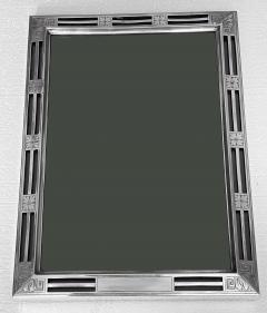 Large American Jugendstil Deco Sterling Frame William Kerr circa 1900 - 1899344
