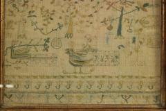 Large Antique Band Sampler c 1725 by Mary Gatehouse - 2062843