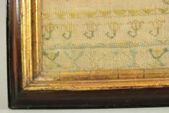Large Antique Band Sampler c 1725 by Mary Gatehouse - 2062845