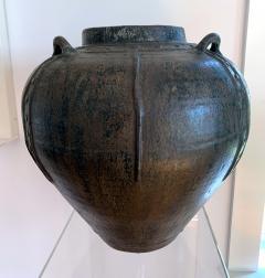 Large Antique Burmese Ceramic Jar from Martaban - 1097072