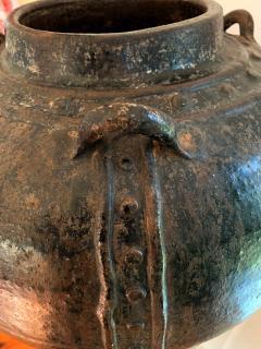 Large Antique Burmese Ceramic Jar from Martaban - 1097085
