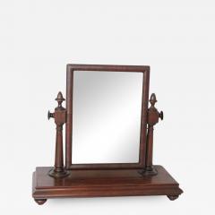 Large Antique Gentleman Vanity Mirror - 689857