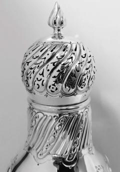 Large Antique Sterling Silver Sugar Caster London 1899 William Gibson - 1701688