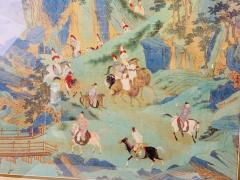 Large Asian Poster Framed and Matted in a Gilt Frame - 1729339