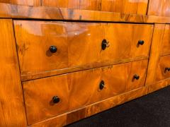 Large Biedermeier Armoire Cherry Veneer Rhineland Germany circa 1820 - 1576719