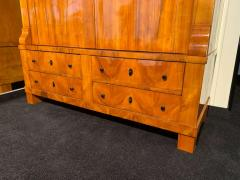 Large Biedermeier Armoire Cherry Veneer Rhineland Germany circa 1820 - 1576743