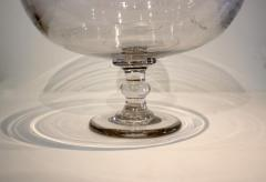 Large Blown Glass Compote - 667852