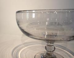 Large Blown Glass Compote - 667853