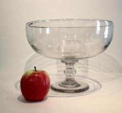 Large Blown Glass Compote - 667855
