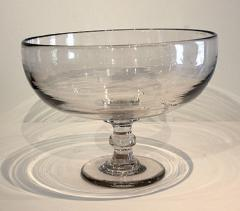 Large Blown Glass Compote - 667857