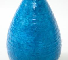 Large Blue Vintage Italian Ceramic Table Lamp circa 1960s - 1960964