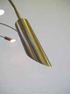 Large Brass Arc Floor Lamp Italy 1970s - 1396637