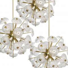 Large Cascade Light Fixture with Five Sputniks in the Style of Emil Stejnar - 1012796