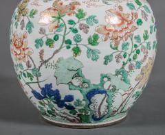 Large Chinese Famille Rose Vase - 717844