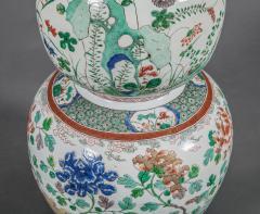 Large Chinese Famille Rose Vase - 717892