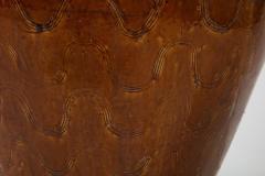 Large Chinese Martaban Ming Dynasty Stoneware Storage Vase with Dragons - 1566407