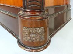 Large Classical Mahogany Walnut Satinwood Ebonized Wood Sideboard Credenza - 1122005