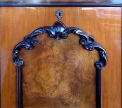 Large Classical Mahogany Walnut Satinwood Ebonized Wood Sideboard Credenza - 1122006