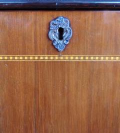 Large Classical Mahogany Walnut Satinwood Ebonized Wood Sideboard Credenza - 1122007