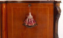 Large Classical Mahogany Walnut Satinwood Ebonized Wood Sideboard Credenza - 1122012