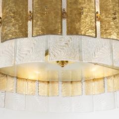 Large Contemporary Murano Light Pendant Italy Circa 2016 - 1489285