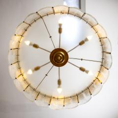 Large Contemporary Murano Light Pendant Italy Circa 2016 - 1489289