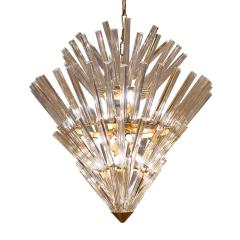 Large Crown of Thorns Chandelier Murano 1970s - 1164507