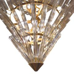 Large Crown of Thorns Chandelier Murano 1970s - 1164510