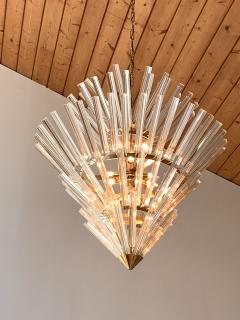 Large Crown of Thorns Chandelier Murano 1970s - 1164511