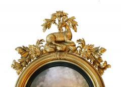 Large Early 19th Century American Regency Girandole Looking Glass - 1743614