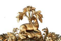 Large Early 19th Century American Regency Girandole Looking Glass - 1743616