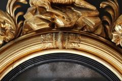 Large Early 19th Century American Regency Girandole Looking Glass - 1743617
