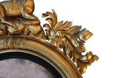 Large Early 19th Century American Regency Girandole Looking Glass - 1743619