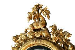 Large Early 19th Century American Regency Girandole Looking Glass - 1743620
