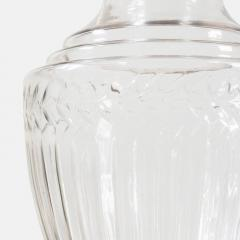 Large Edwardian Cut Glass Apothecary Jar circa 1910 - 1308384