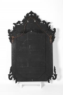 Large Etched Glass Framed Venetian Hanging Wall Mirror - 1038005