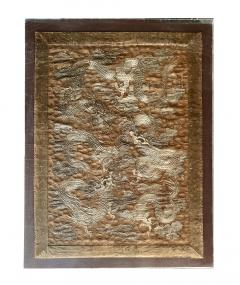 Large Framed Japanese Embroidery Dragon Tapestry - 1161343