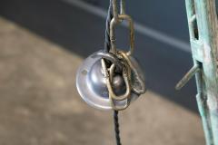 Large French Verdigris Copper Lantern - 1975741