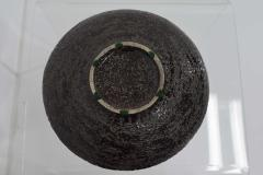 Large Glazed Ceramic Plate Charge 1950s - 1457720