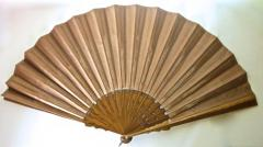 Large Hand Held Fan Columbian Exposition Circa 1893  - 677463