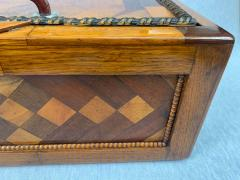 Large Historicism Box Different Hardwoods South Germany circa 1860 1880 - 1808458