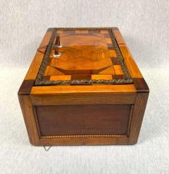 Large Historicism Box Different Hardwoods South Germany circa 1860 1880 - 1808460