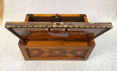 Large Historicism Box Different Hardwoods South Germany circa 1860 1880 - 1808464