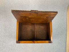 Large Historicism Box Different Hardwoods South Germany circa 1860 1880 - 1808465