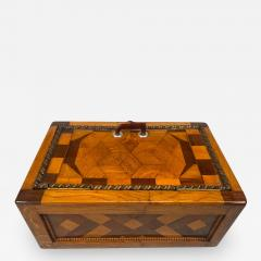 Large Historicism Box Different Hardwoods South Germany circa 1860 1880 - 1904963