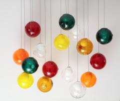 Large Italian Ball Chandelier - 1900487