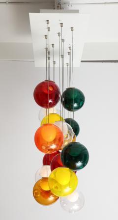 Large Italian Ball Chandelier - 1900490