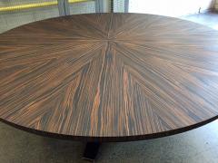 Large Italian Zebra Wood Center Table - 2046101