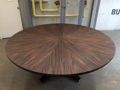 Large Italian Zebra Wood Center Table - 2046102
